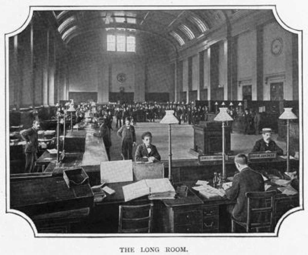 The Long Room is the early 20th century (Credit: Victorian Web)