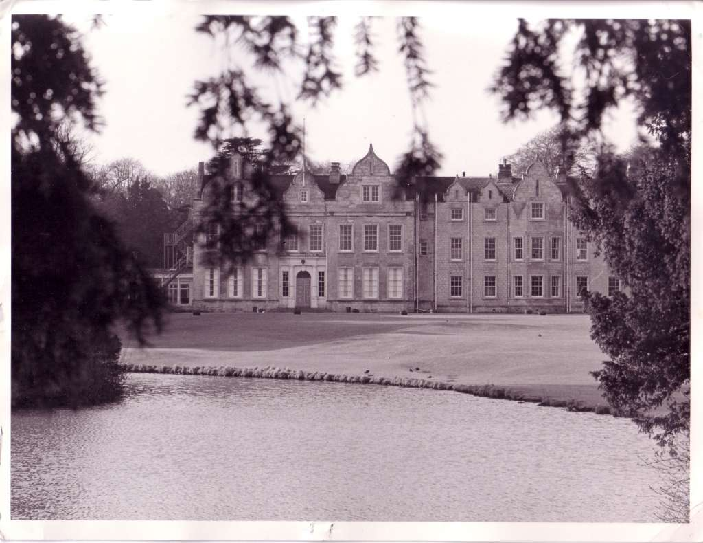 Firbeck Hall in 1970
