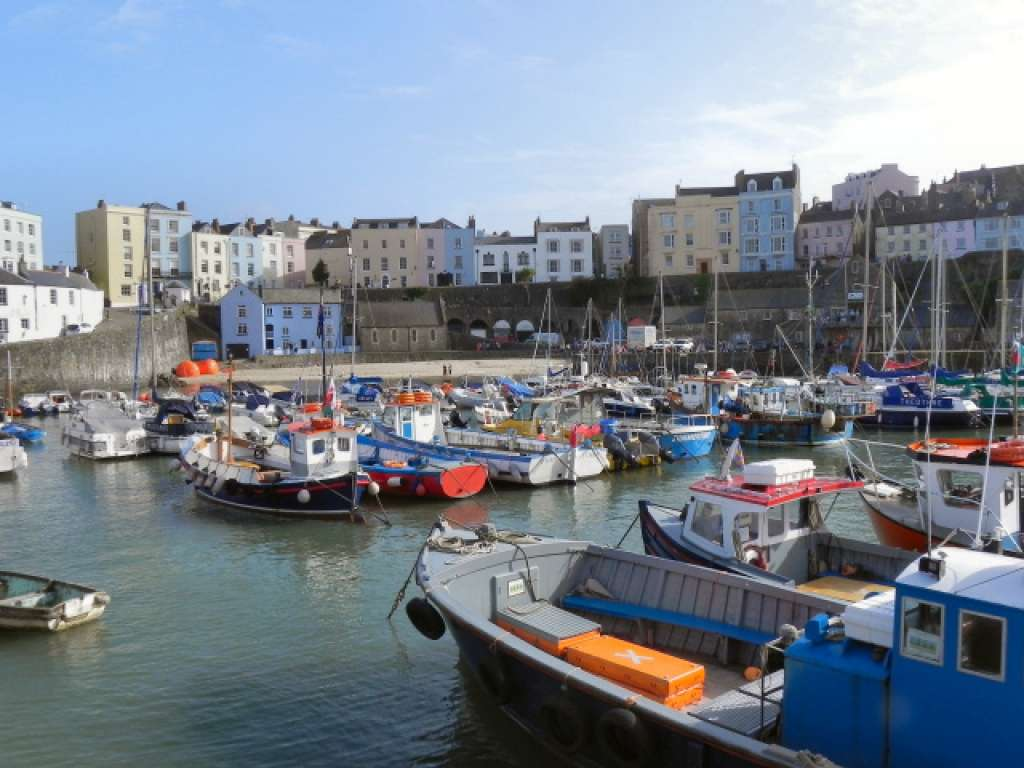Tenby in southwest Wales is well known for its medieval town walls and rich heritage