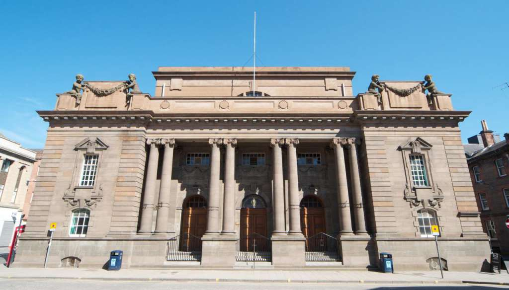 Perth City Hall. Picture by Tom Parnell