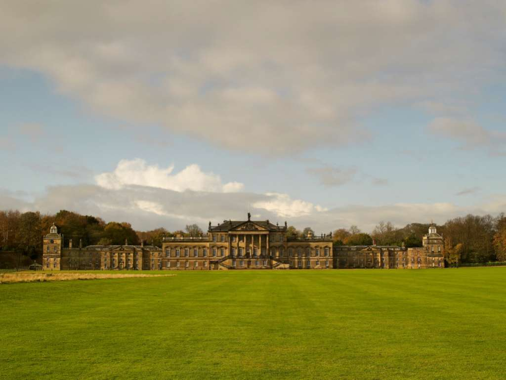 The full east front of Wentworth Woodhouse ©Country Life
