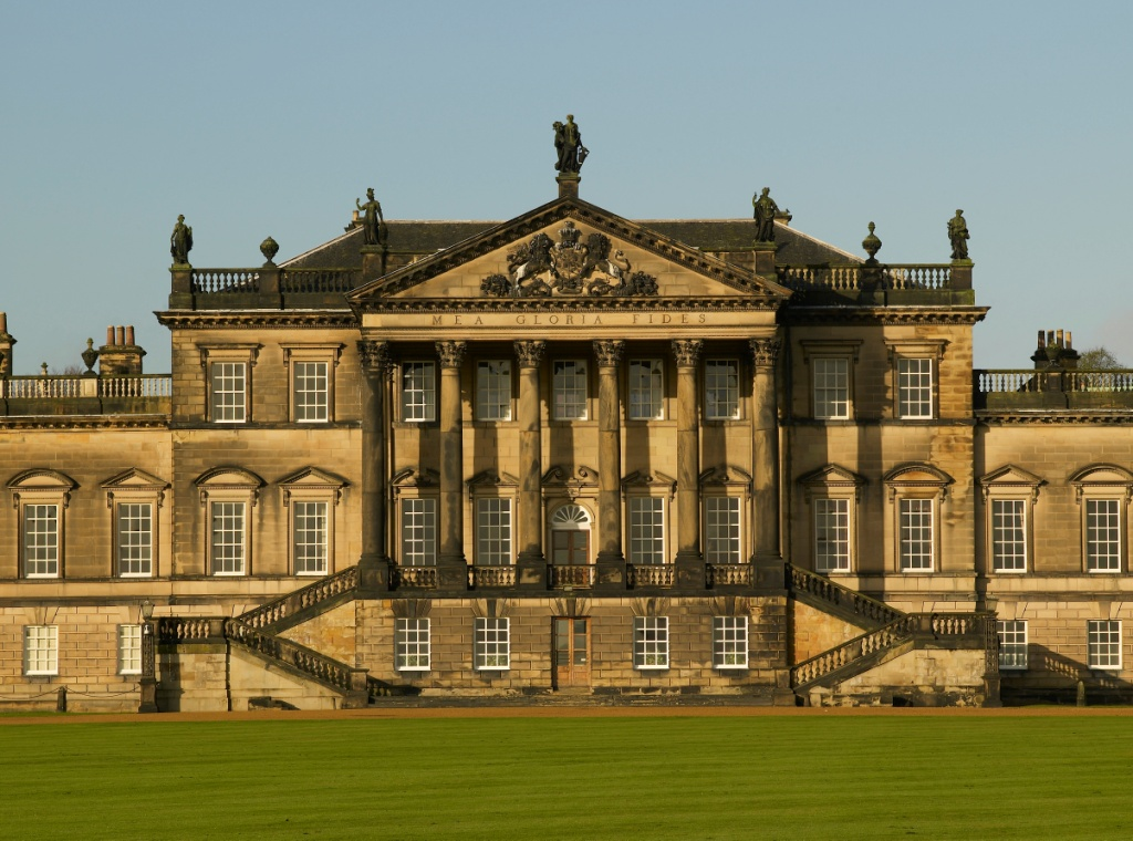 The east front of Wentworth Woodhouse ©Country Life