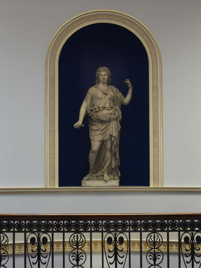 Roman statue of Ceres ©Country Life