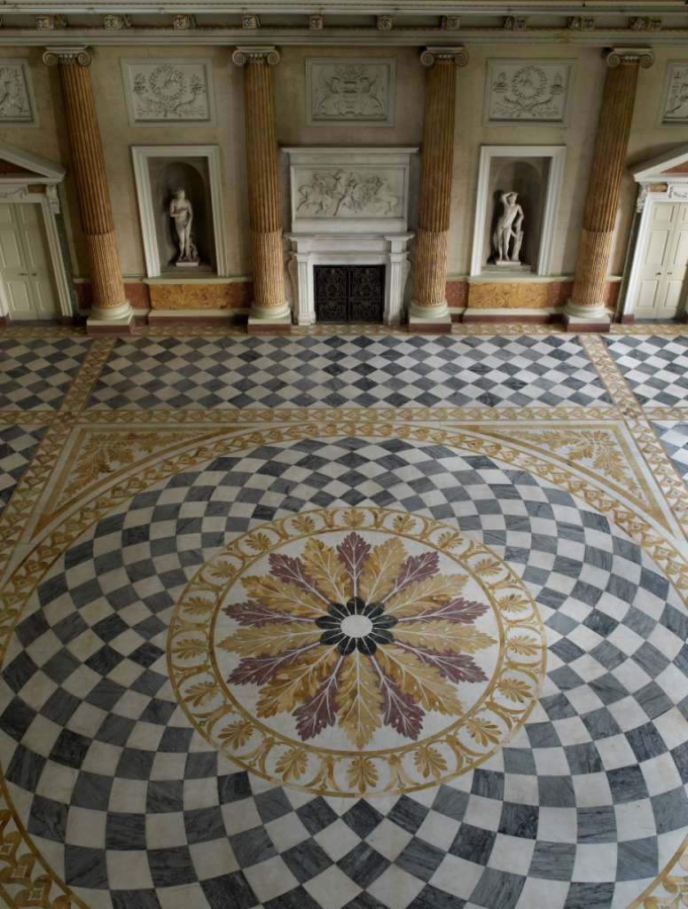 The Marble Saloon at Wentworth Woodhouse ©Country Life