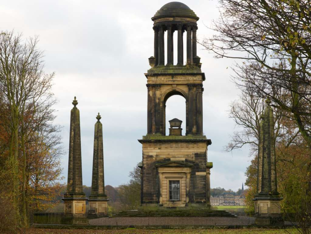 The Rockingham Mausoleum, maintained by Fitzwilliam Wentworth Amenity Trust