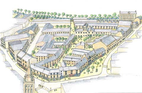 Conservation-based vision for Lancaster by Richard Griffiths Architects