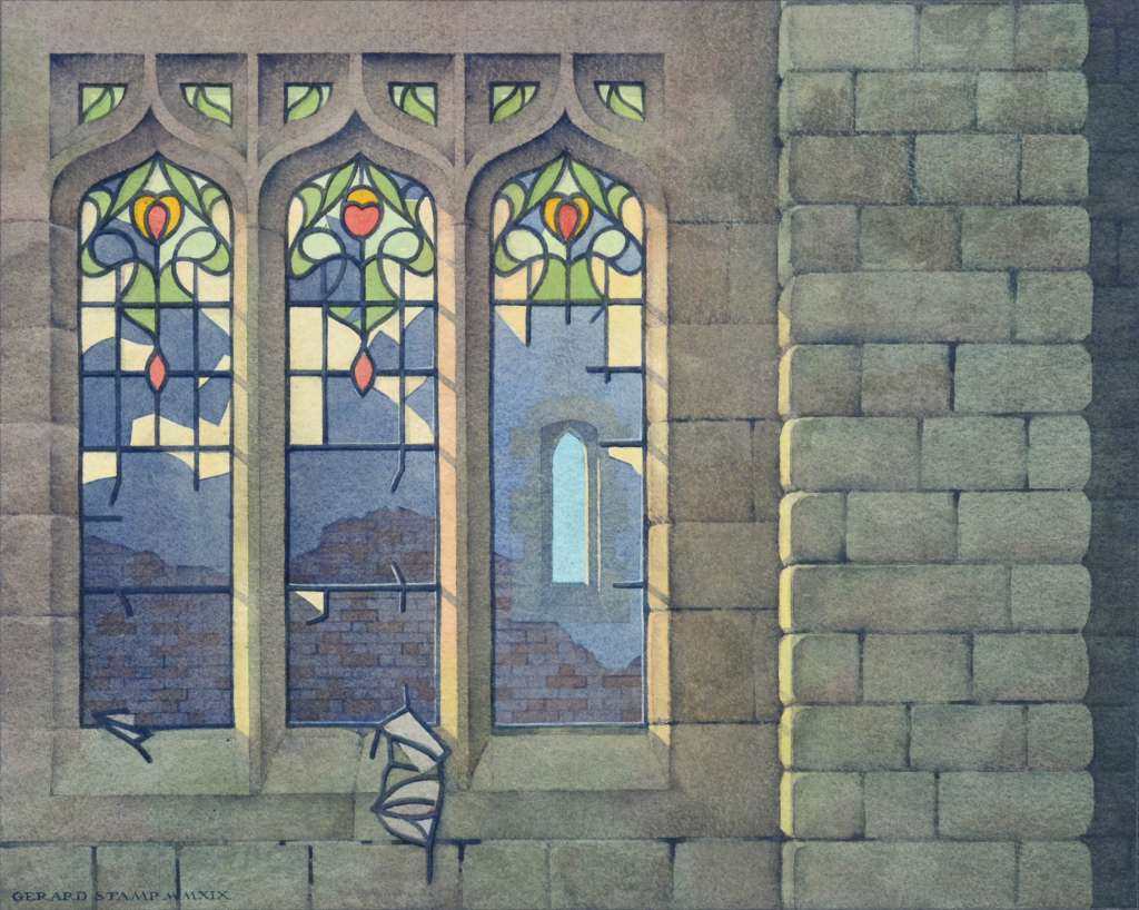 Gerard Stamp - Agecroft Cemetary Chapel (sold)