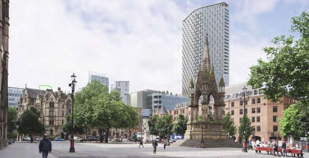 SAVE backs Steve Speakman's legal challenge against 40-storey tower in Manchester's historic centre