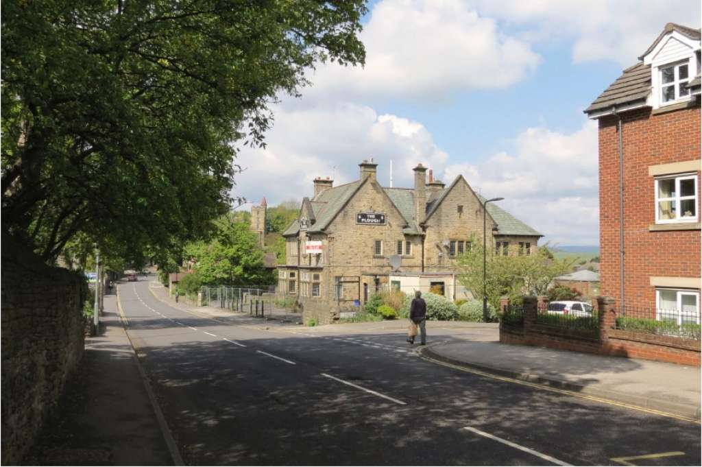 Current view of The Plough Inn from Sandygate Road (Credit: Planning Documents)