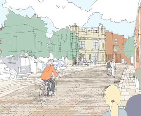 Figure 2 - Vision for Queen Street