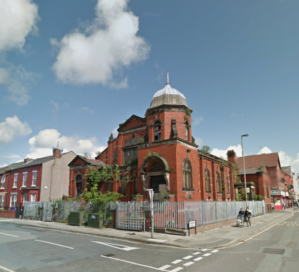 Church of the Protestant Martyrs, Liverpool (Google Streetview)