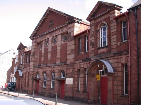 Central Hall Methodist Church, Fisher Street, Carlisle