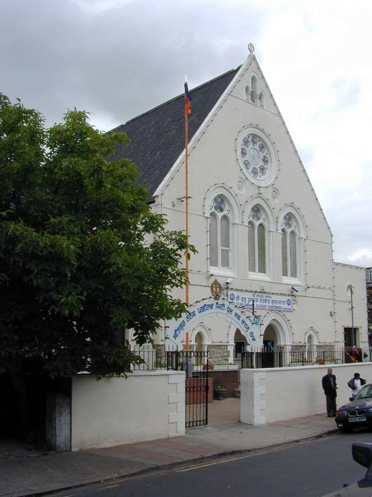 The former Guru Nanak Darbar Gurdwara / former Milton Congregational Church