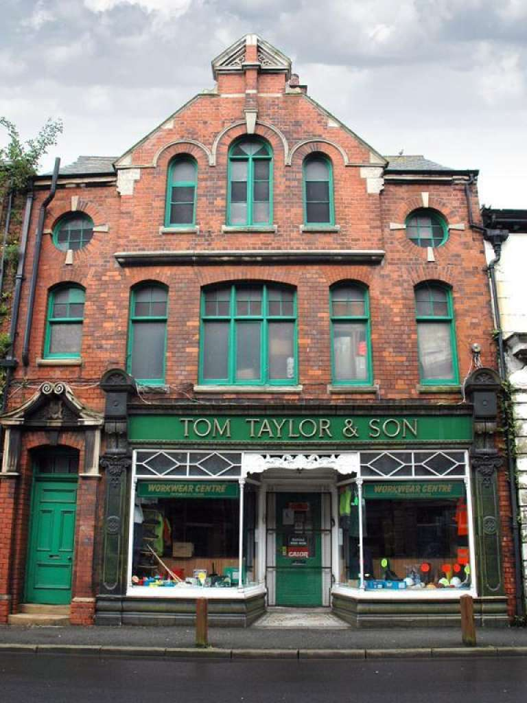 Tom Taylor & Son, Grade II listed, within the new conservation area. Image: GGIFT/WMF