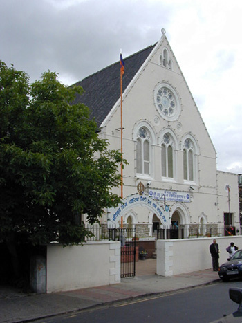 Former Milton Congregational Church, now a Sikh Temple