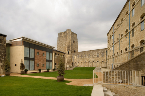 Old and new are carefully combined in the Richard Griffiths scheme at Oxford Castle