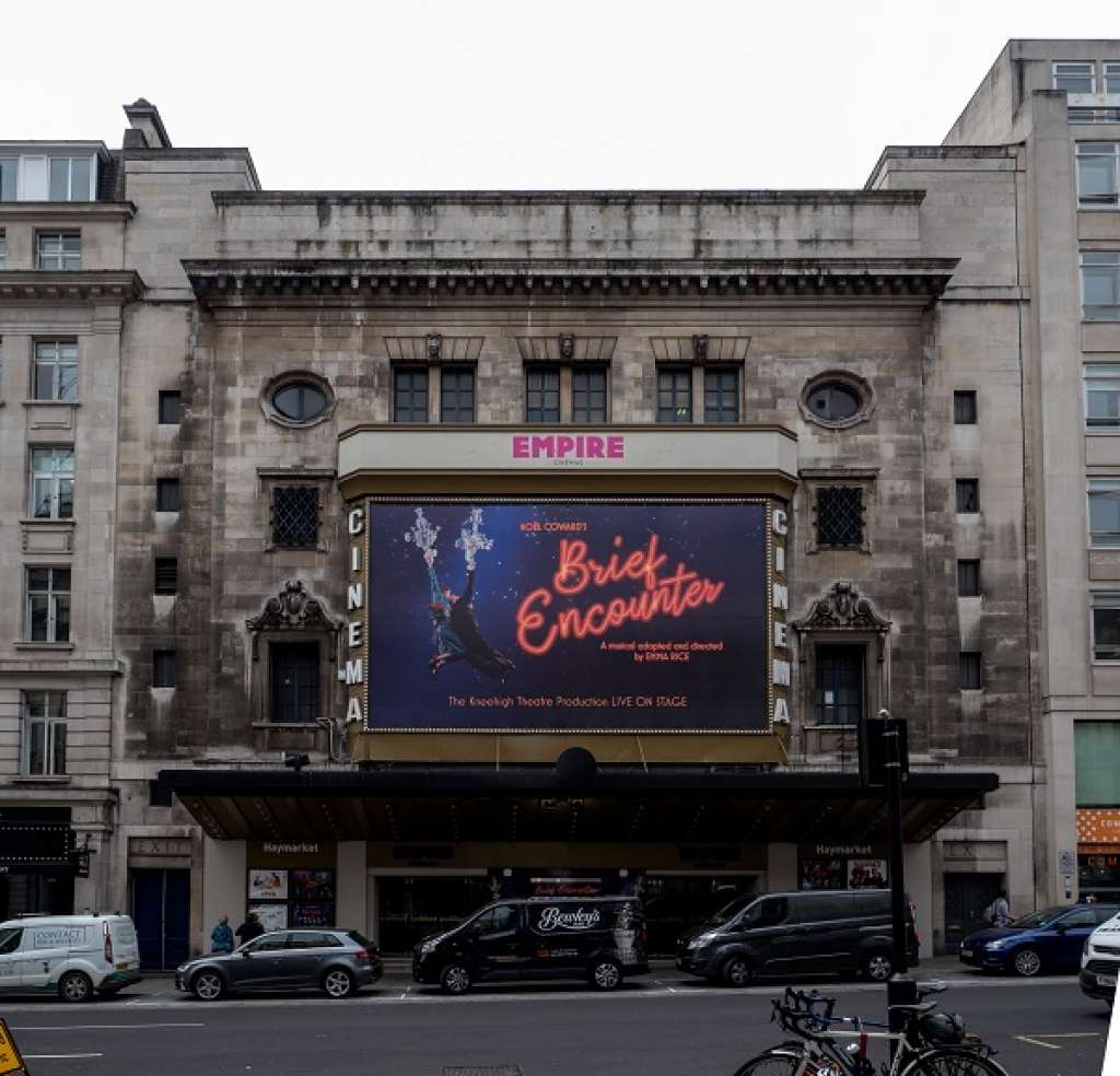 Listing success! Historic cinema in London's West End is celebrated and protected through listing