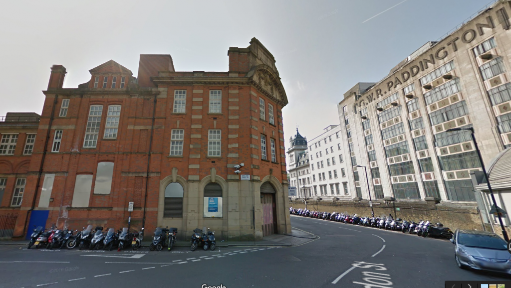 Paddington Sorting Office. Google Maps