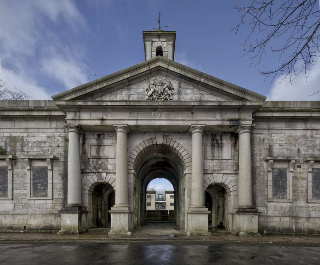 Raglan Barracks Gatehouse, Plymouth. Buildings at Risk catalogue 2017-18. Eveleigh Photography