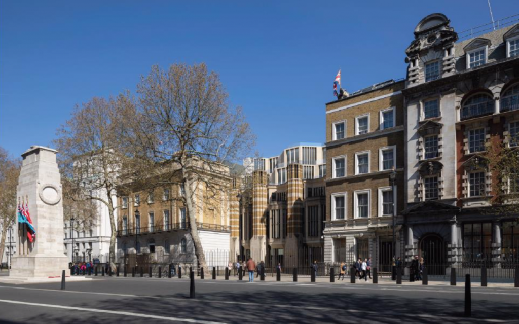 Richmond House as seen currently from Whitehall (Planning Application Documents)