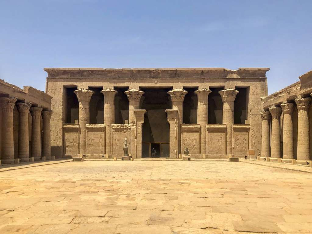 Temple of Horus at Edfu, Egypt (Credit: Wikipedia)