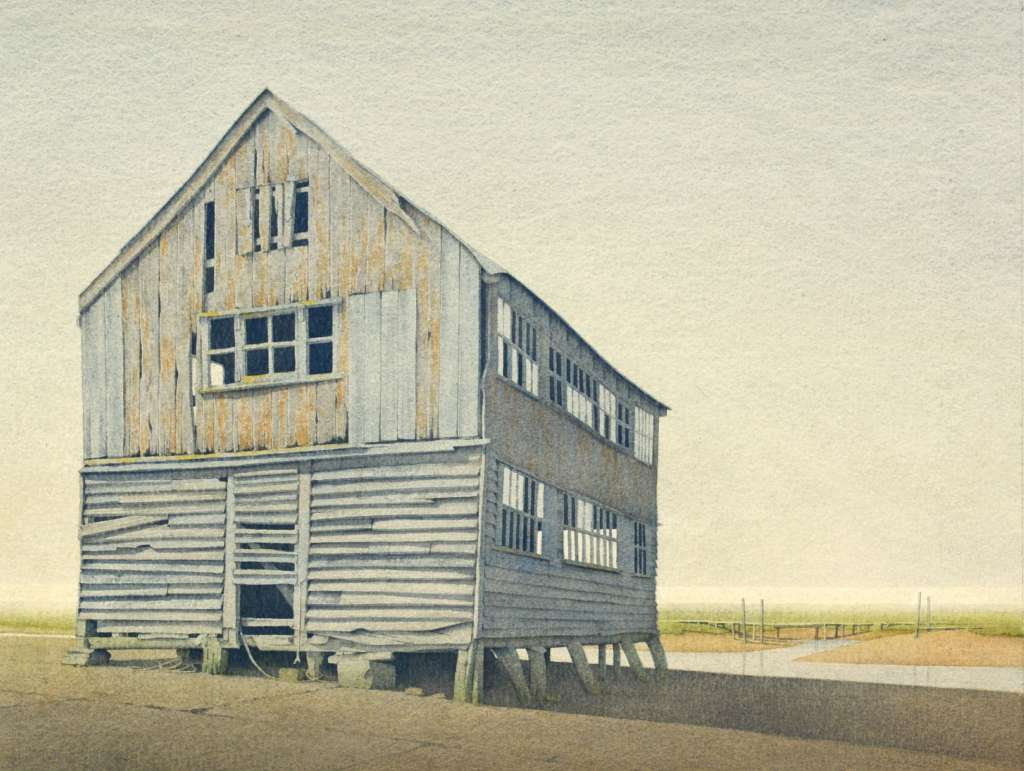 Gerard Stamp - Tollesbury Granary (sold)
