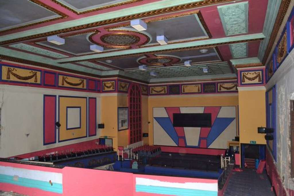 The colourful interior of the Albert Hall in 2019 (WalesOnline)