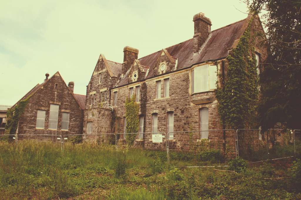 The former Girls' Comprehensive School in Cowbridge, Glamorgan (Credit: Tudur Davies)