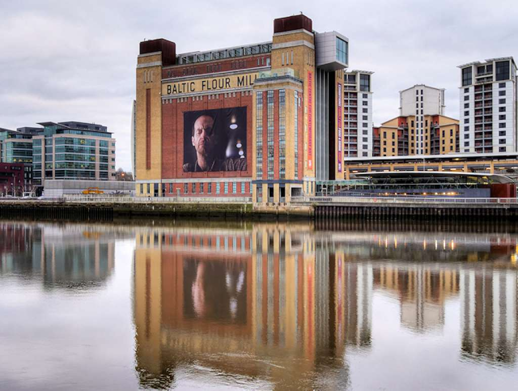 The Baltic Flour Mills in Gateshead, converted to critical acclaim (Credit: baltic.art)