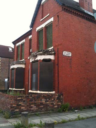 One of for houses on Cairns Street now demolished
