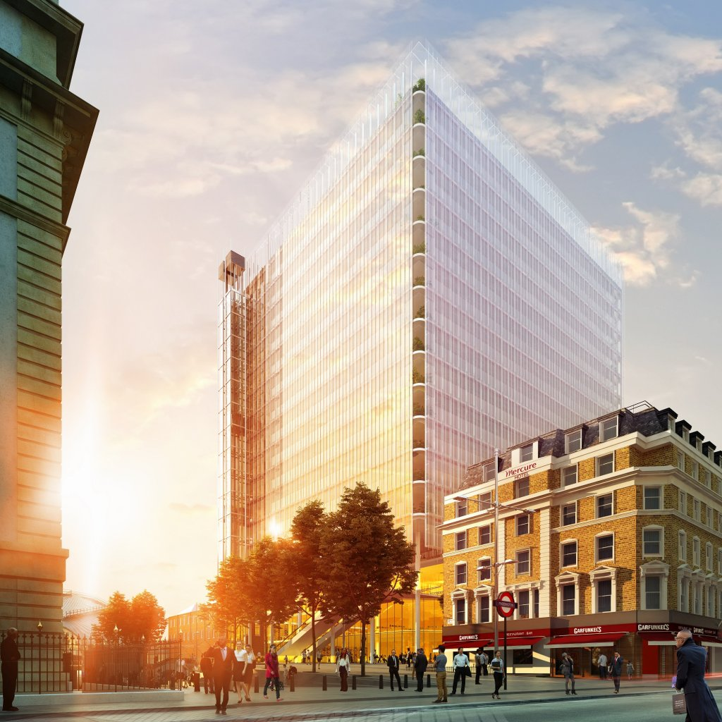 The Paddington Cube as proposed