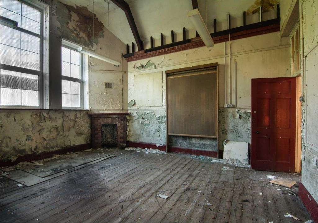 An original classrooms inside the school building (Credit: Lee McGrath)