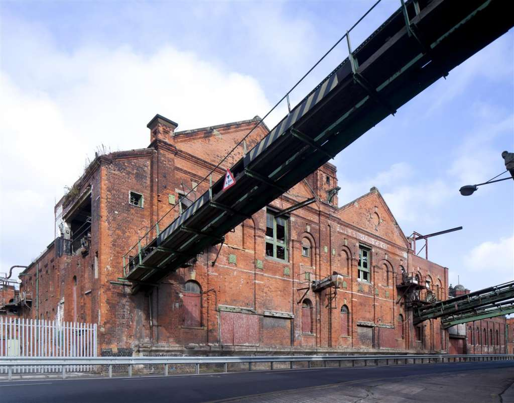 Grimsby Ice Factory, Grade II* listed, outside of the new conservation area.  Image: Andy Marshall/W