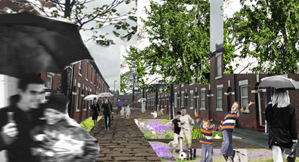 Mark Hines's scheme showed how houses in Toxteth Street could be retained