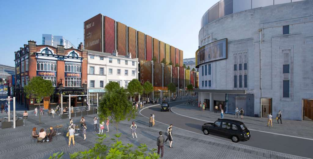 The approved plans for Lime Street