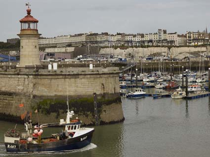 Ramsgate Harbour. Photo: Paul Barker