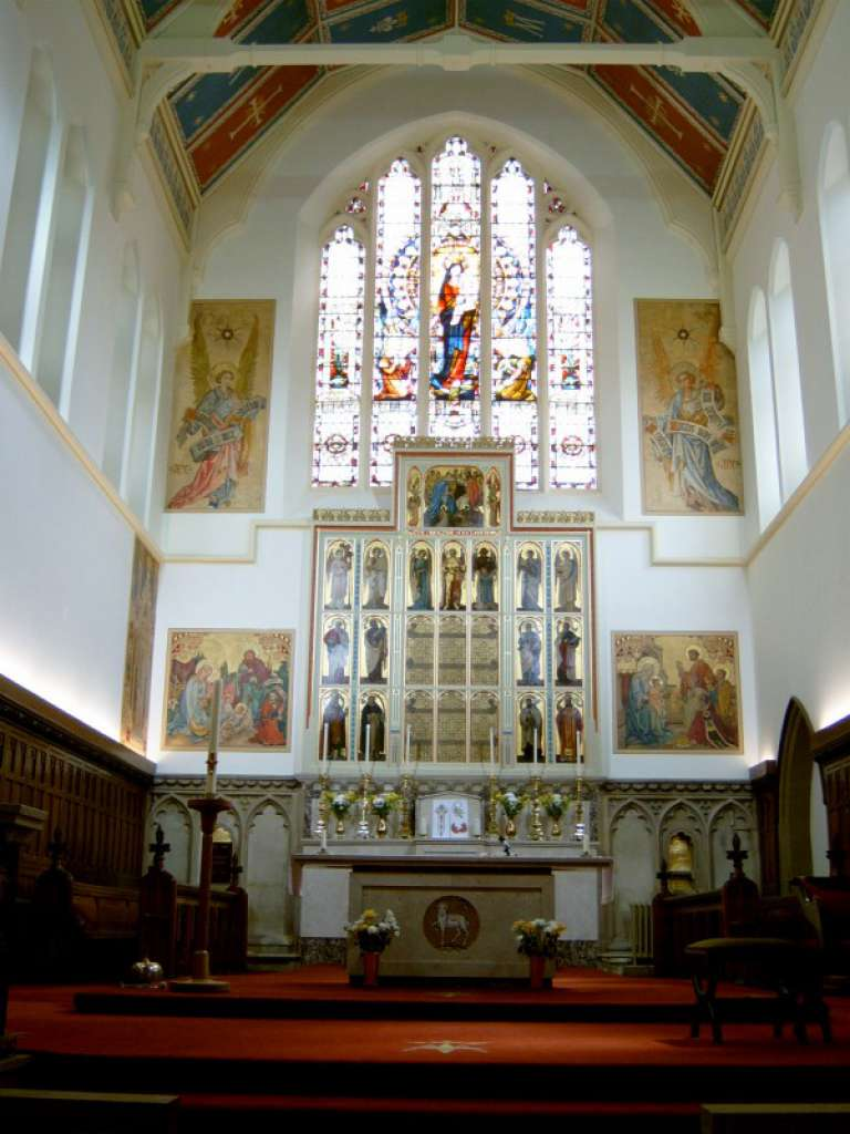 St Mary on the Sea, Grimsby photo: St Mary's parish website