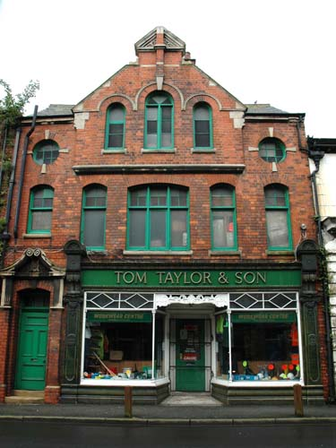 Tom Taylor's - typical example of a shop & warehouse in the docks