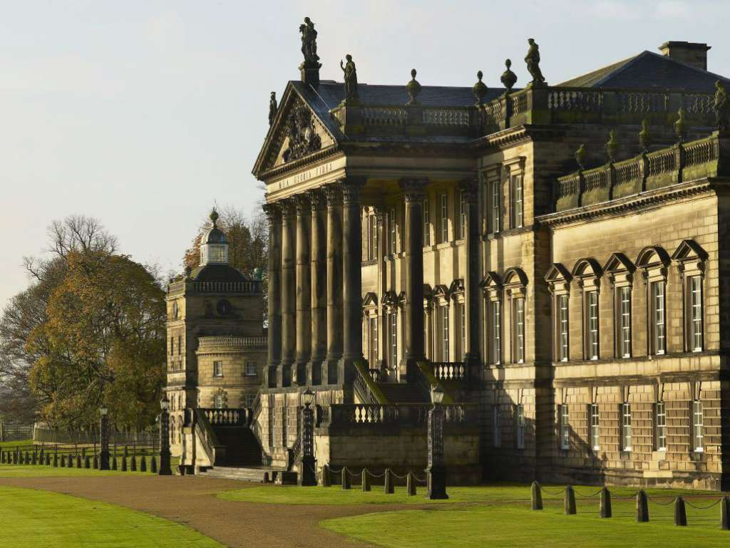 Wentworth Woodhouse's famous Palladian façade (Credits: WWPT)